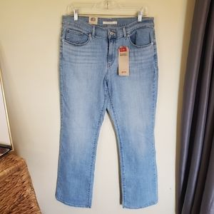 Levi's Classic Mid Rise Bootcut Jeans Size 12